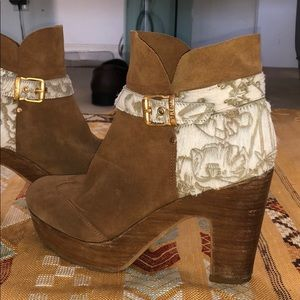 Anthropologie Strena Booties - Size 9